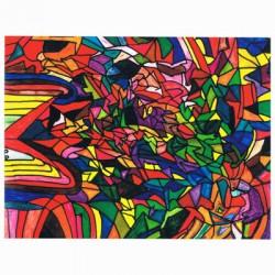 Mosaik on canvas